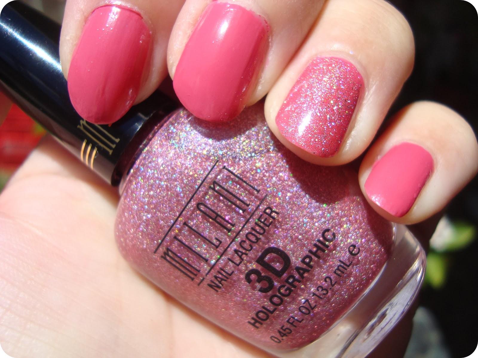 Loca X Los Esmaltes..: Pink mas Holo...