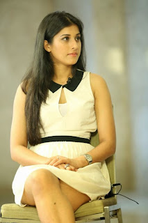 Actress Kratee Pictures in White Short Dress at Best Actors Press Meet 4