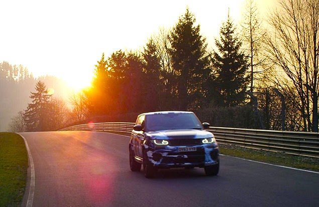 Range Rover Sport SVR Nurburgring