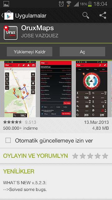 Oruxmaps GPS