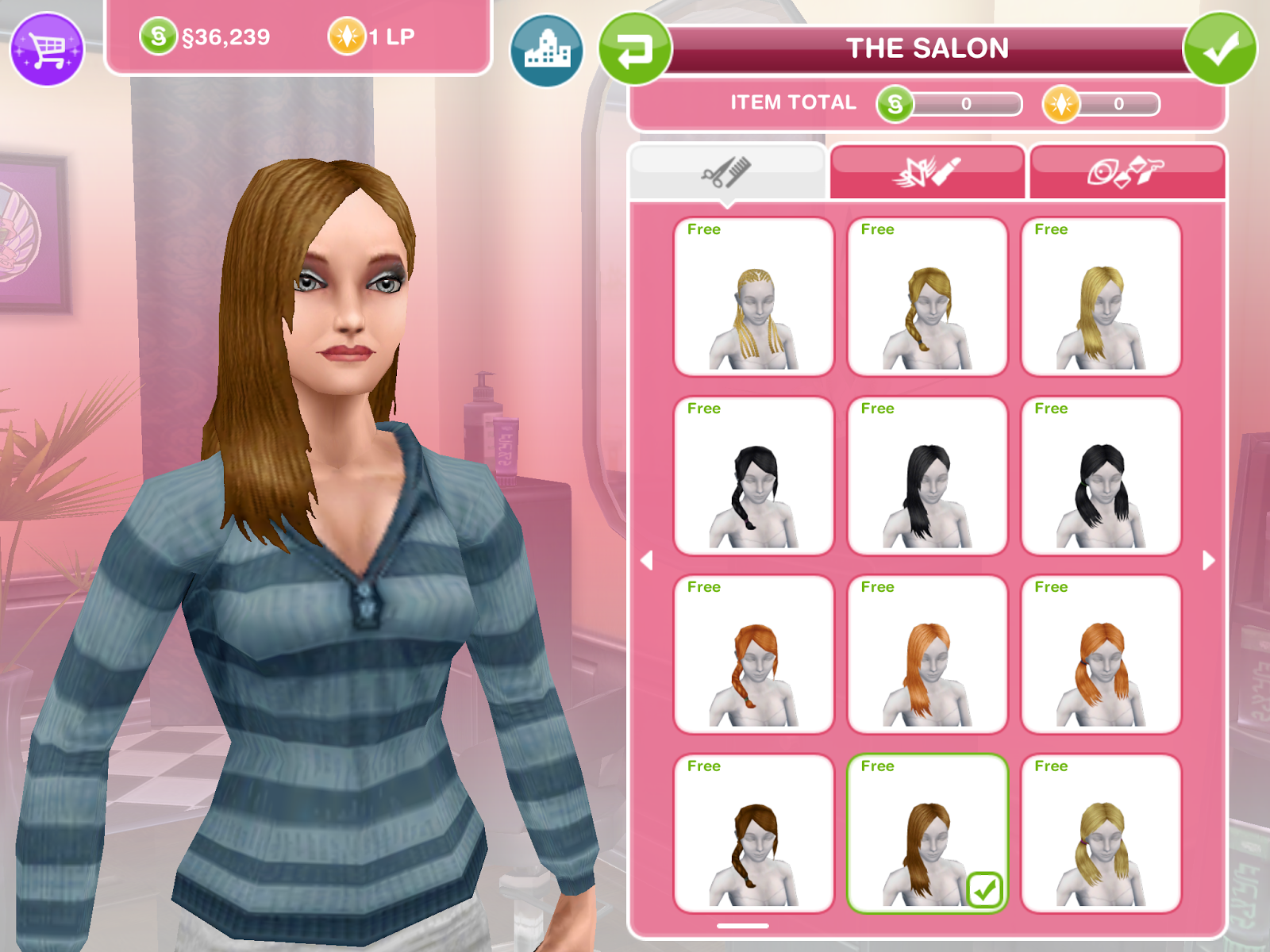 Hairstyles Quest Sims Freeplay : Sims Freeplay Long Hairstyles newhairstylesformen2014.com