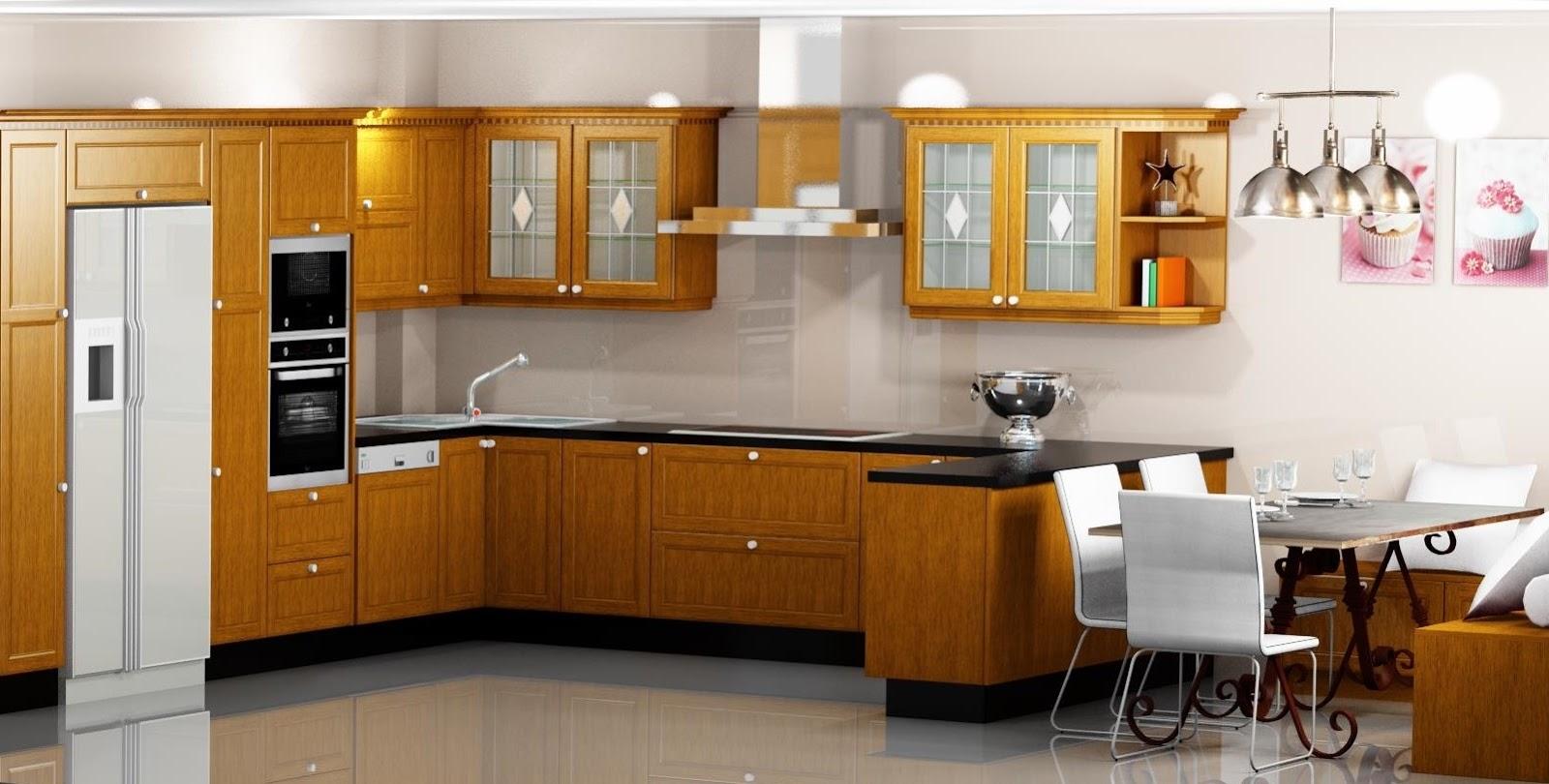 Proyectos y m s 8 cocina comedor en madera de roble for Simulador de muebles de cocina