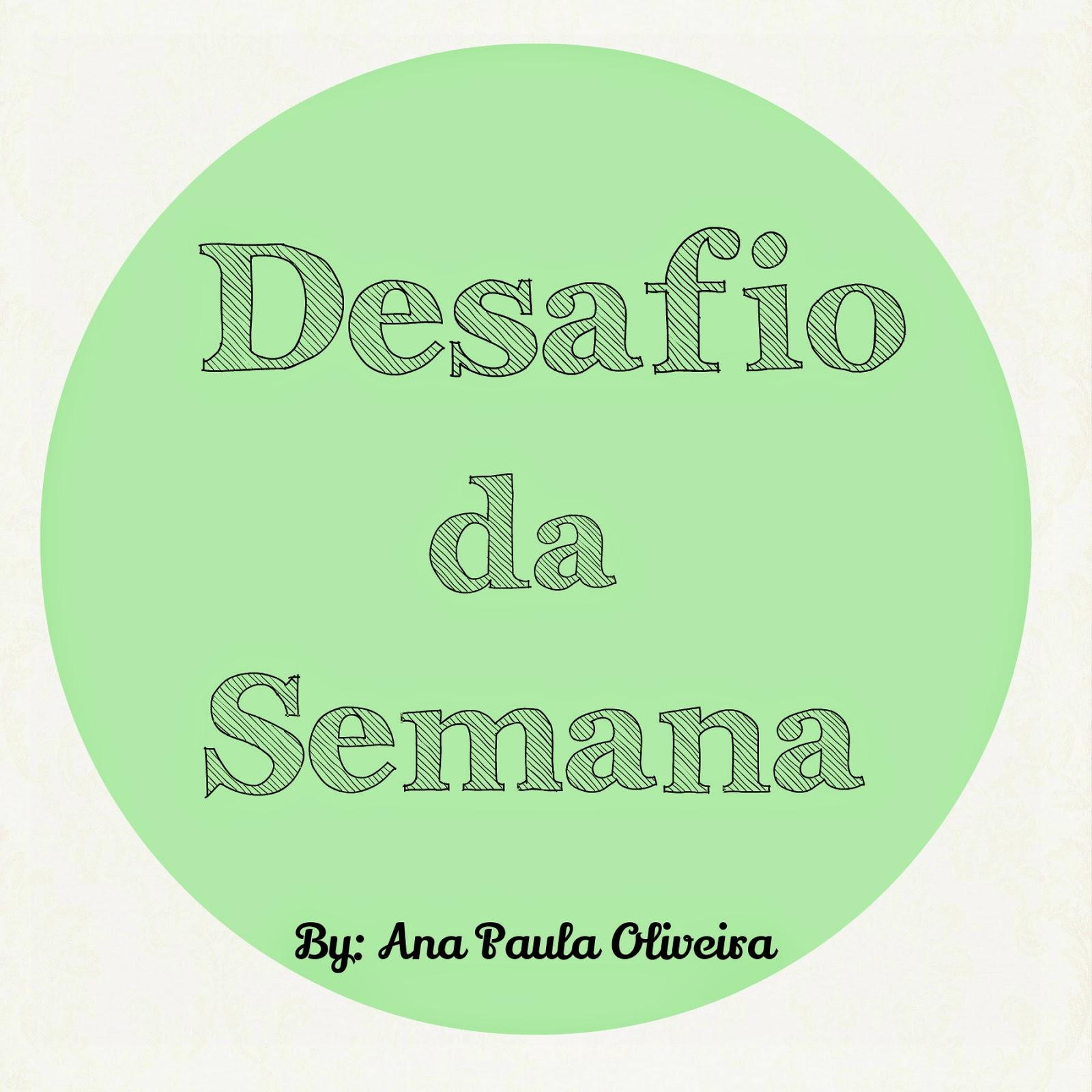 Doce Diva Blog -  Ana Paula Oliveira