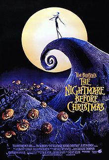 Film poster The Nightmare Before Christmas disneyjuniorblog.blogspot.com