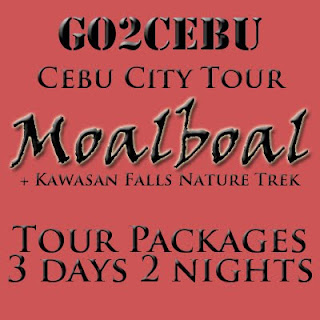 Cebu City + Moalboal Beach Adventure + Kawasan Falls Nature Trek in Cebu Tour Itinerary 3 Days 2 Nights Package (Check-in at Shangri-La Mactan Resort & Spa)