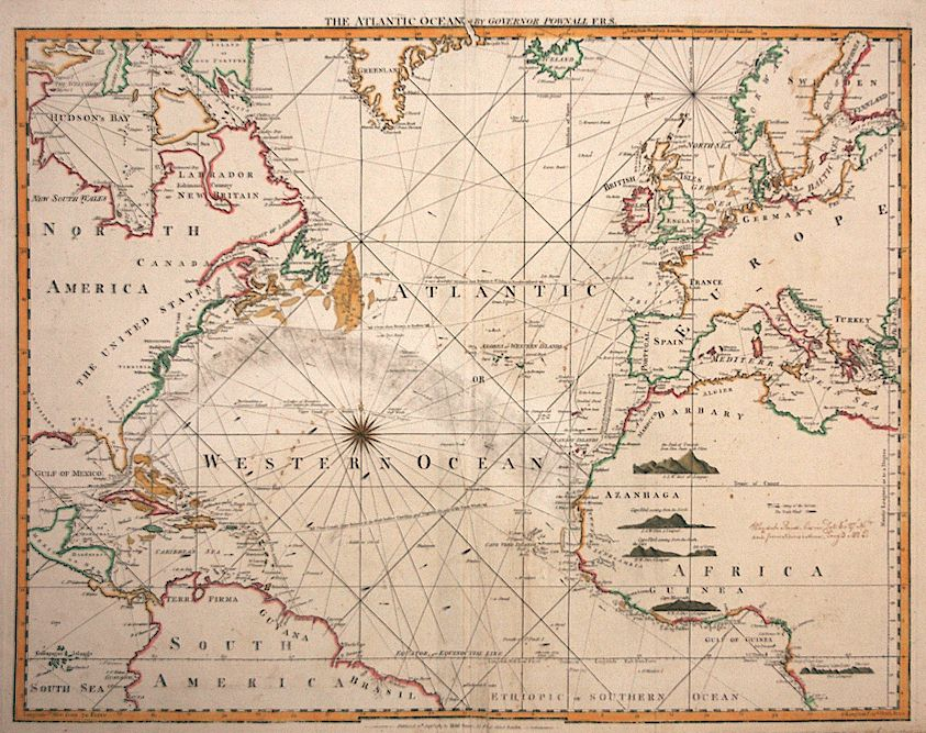 Rare and ntique Maps More than meets the eye on this map of the ...