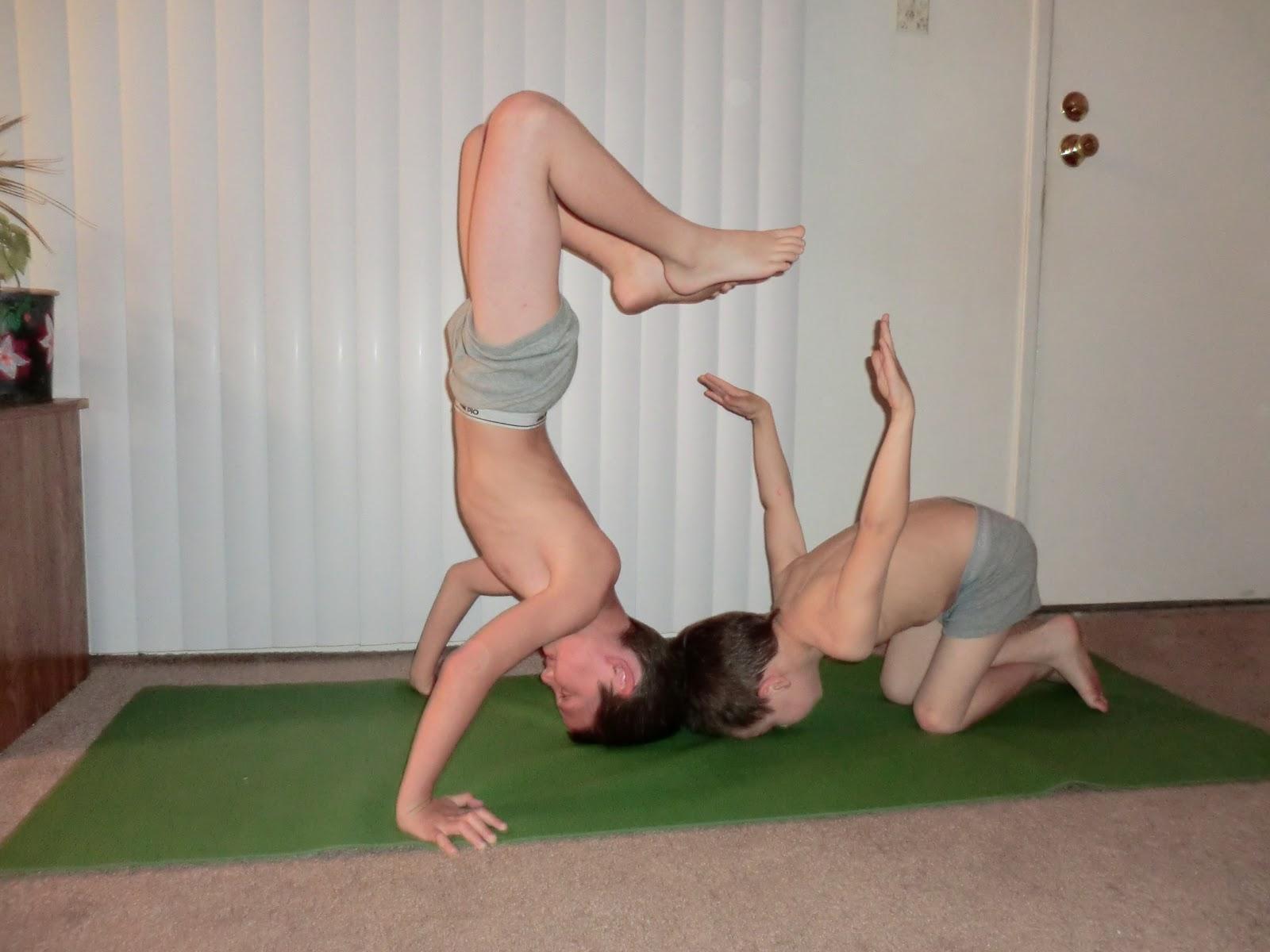 Cute Yoga Dogs Nighttime yoga ritual with the