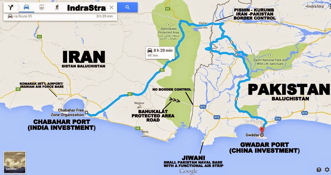 Image result for Chabahar port Iran-India