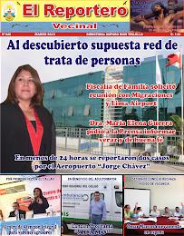 """PERIÓDICO """"EL REPORTERO VECINAL Nº 40 - MARZO 2013"""