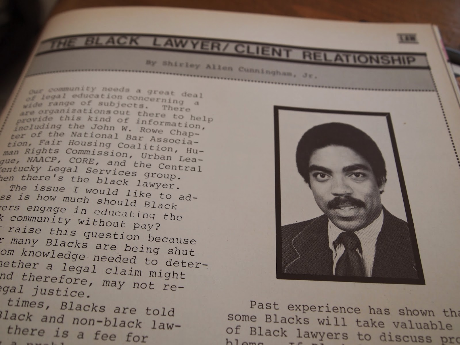 WINGCOM WATCHDOG (WW): Black community needs legal ...