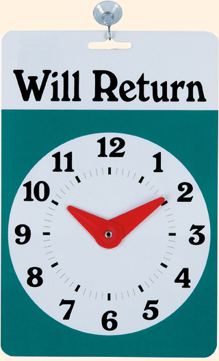 Will return sign template so posts will be few and