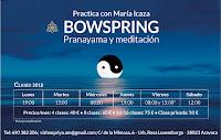 Bowspring horarios 2018