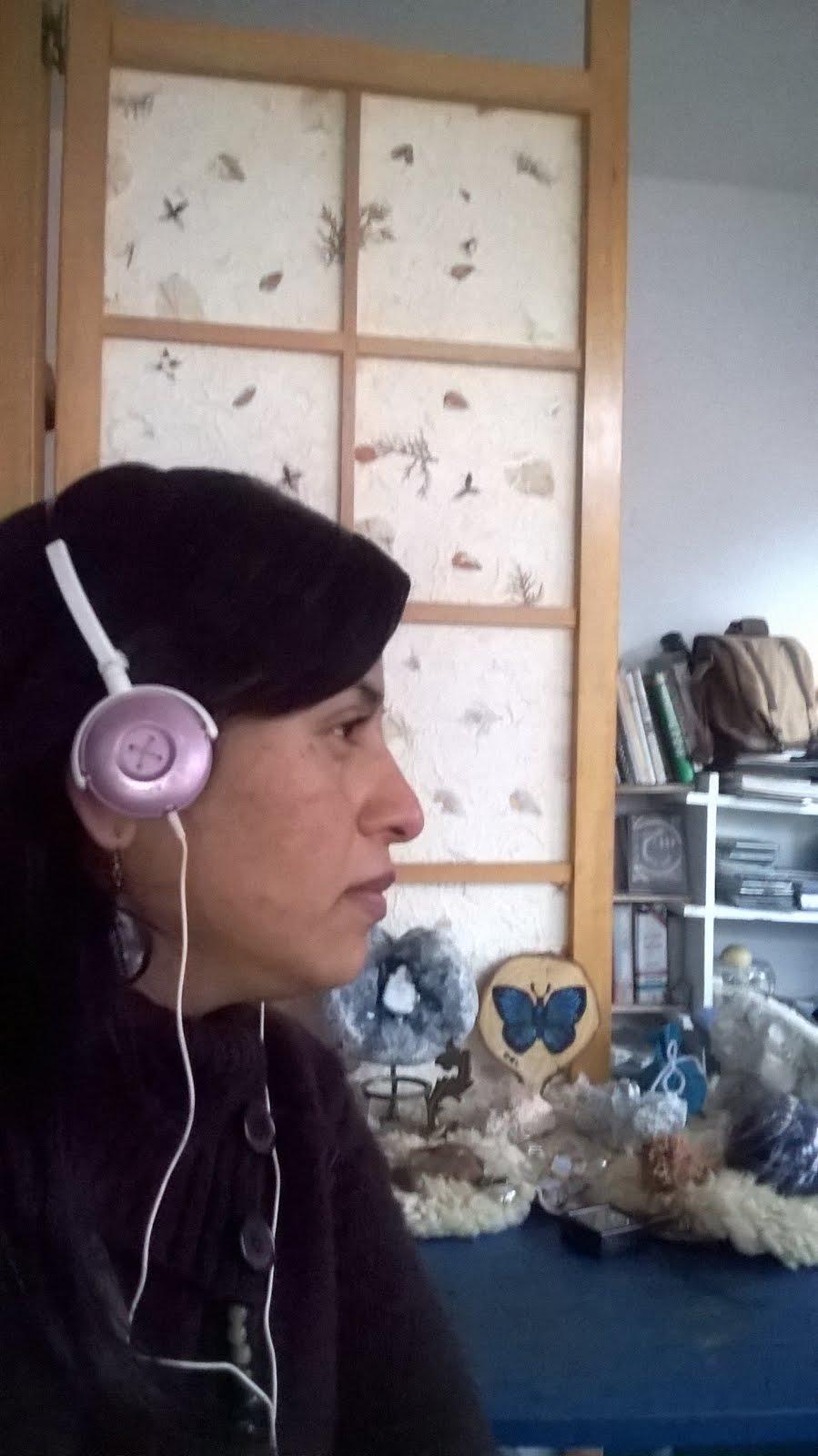 """Conductora (suplente) en Programa de Radio """"Mar sin fronteras"""" Fusión 102.5 fm., desde 2013."""