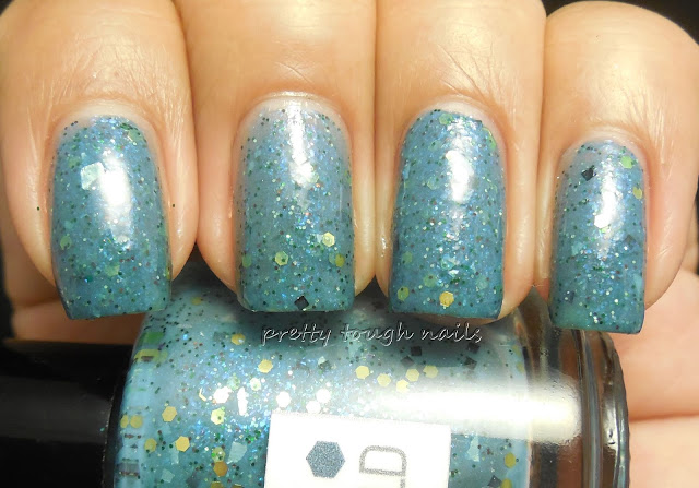 Nerdlacquer Rheingold with topcoat