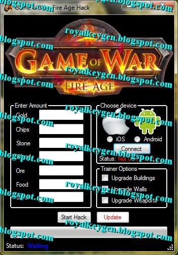 Game of War Fire Age Hack Tool [FREE] [Unlimited Gold, Chips and ...