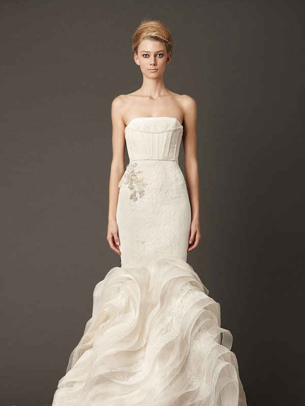 Vera Wang Fall 2013 Wedding Dresses