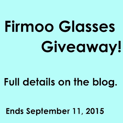 Firmoo Glasses Giveaway
