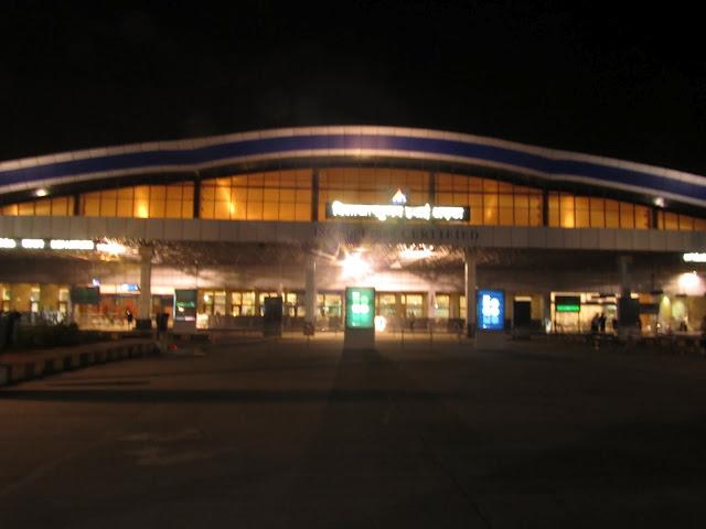 Night Flight >> Vizag Airport: Airport Pics
