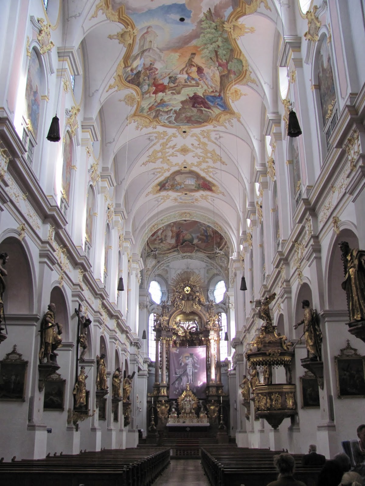 St. Peter's Church Sanctuary Munich