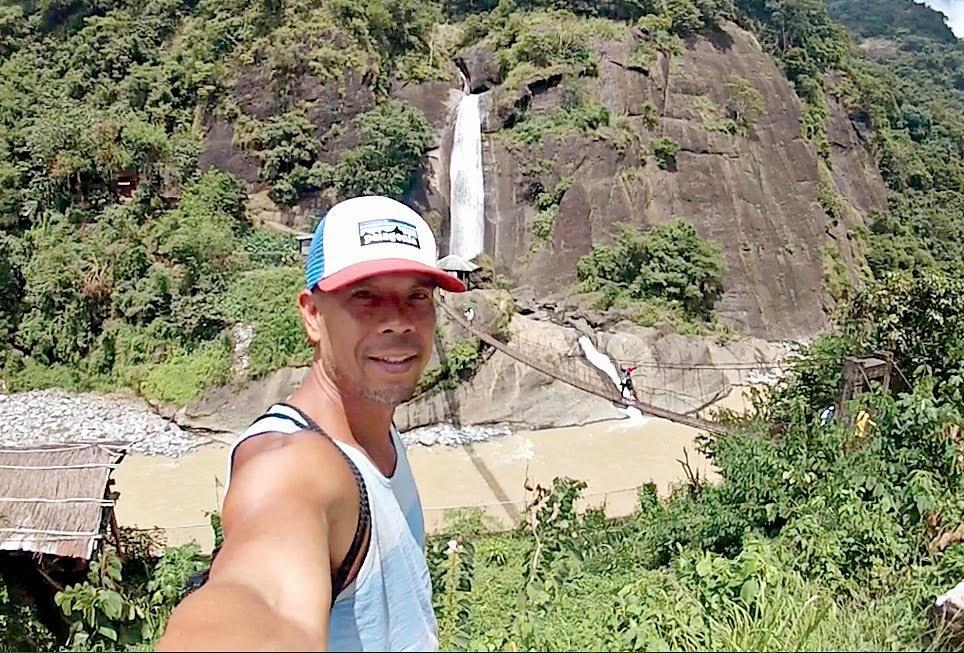 Bridal Veil Falls Baguio City Philippines