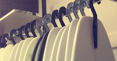 surf retail rack hangers