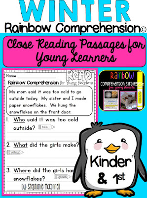 https://www.teacherspayteachers.com/Product/Winter-Comprehension-Passages-for-Young-Learners-1644182