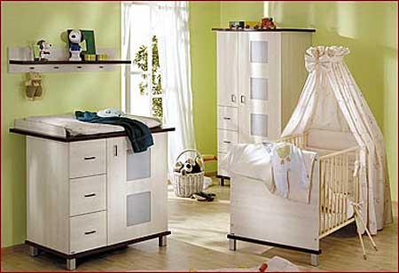 La habitaci n del beb dormitorios con estilo for Organizacion de la habitacion del bebe