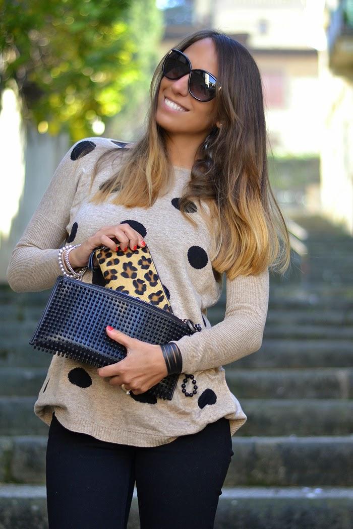 portafoglio leopardato