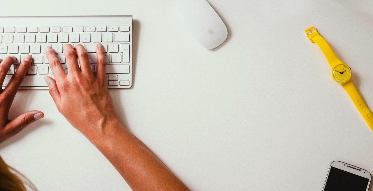 escribir blog ordenador
