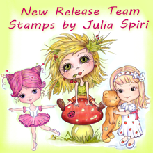 DT - New Release Team - Stamps by Julia Spiri