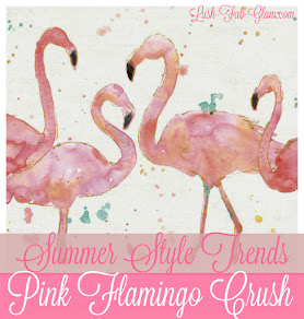 Summer Style Trends: Crushing on Pink Flamingos.