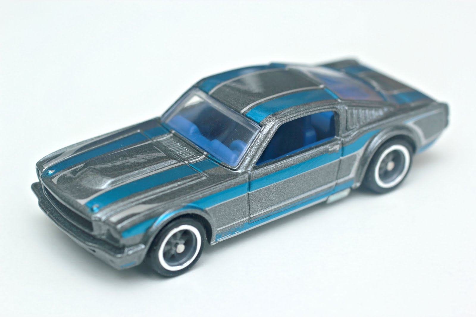 The model shown here is hot wheels 1965 mustang fastback which is also if im not mistaken won the tiffany gold medal award for excellence in american