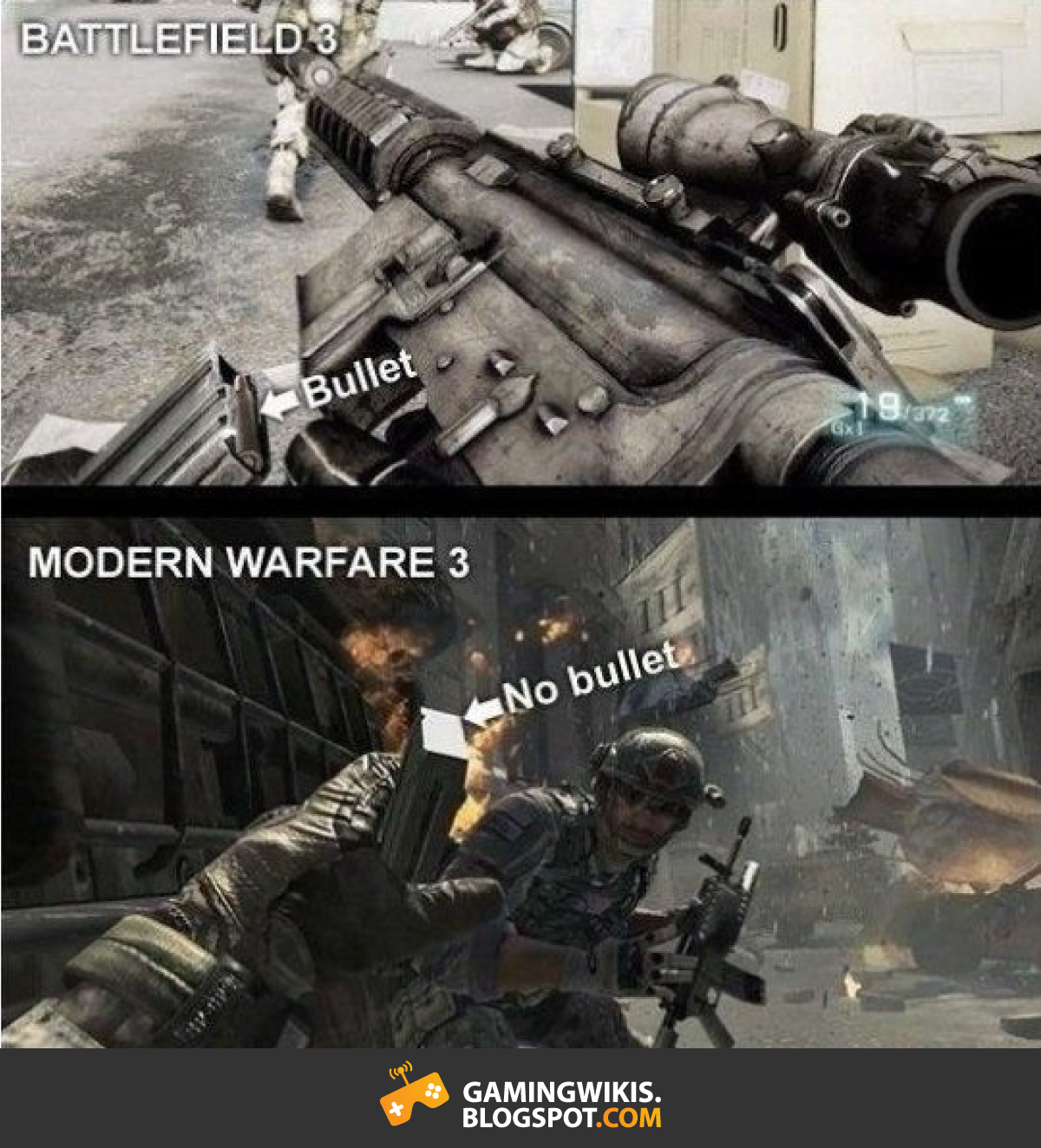 BattleField COD gaming wikis your gaming blog for better gaming 15 funny gaming memes