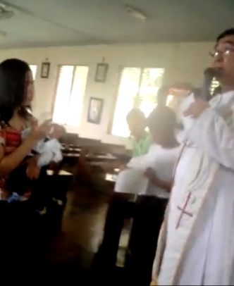 A Mother Humiliated by the Priest on Her baby's baptism-jensonlineservices.com