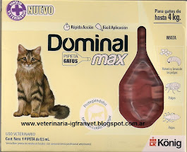 Dominal Max para gatos hasta 4 kg