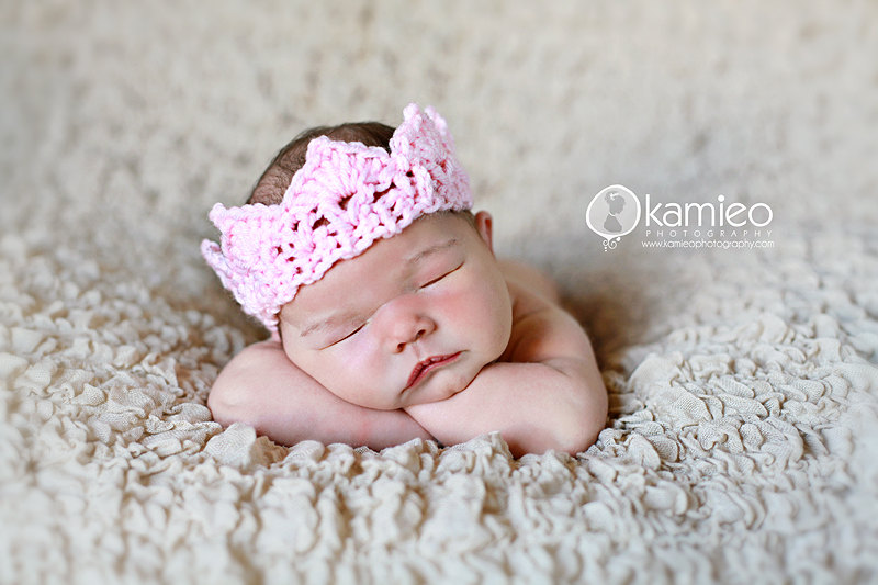 Crochet Newborn Crown : ... have purchased the crowns from me and shared a picture of their work