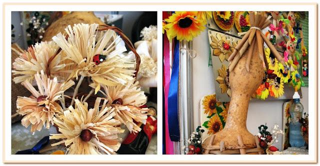 цветы из кукурузяны
