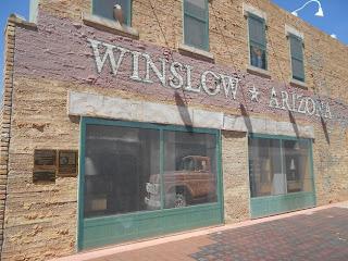 the corner in winslow arizona