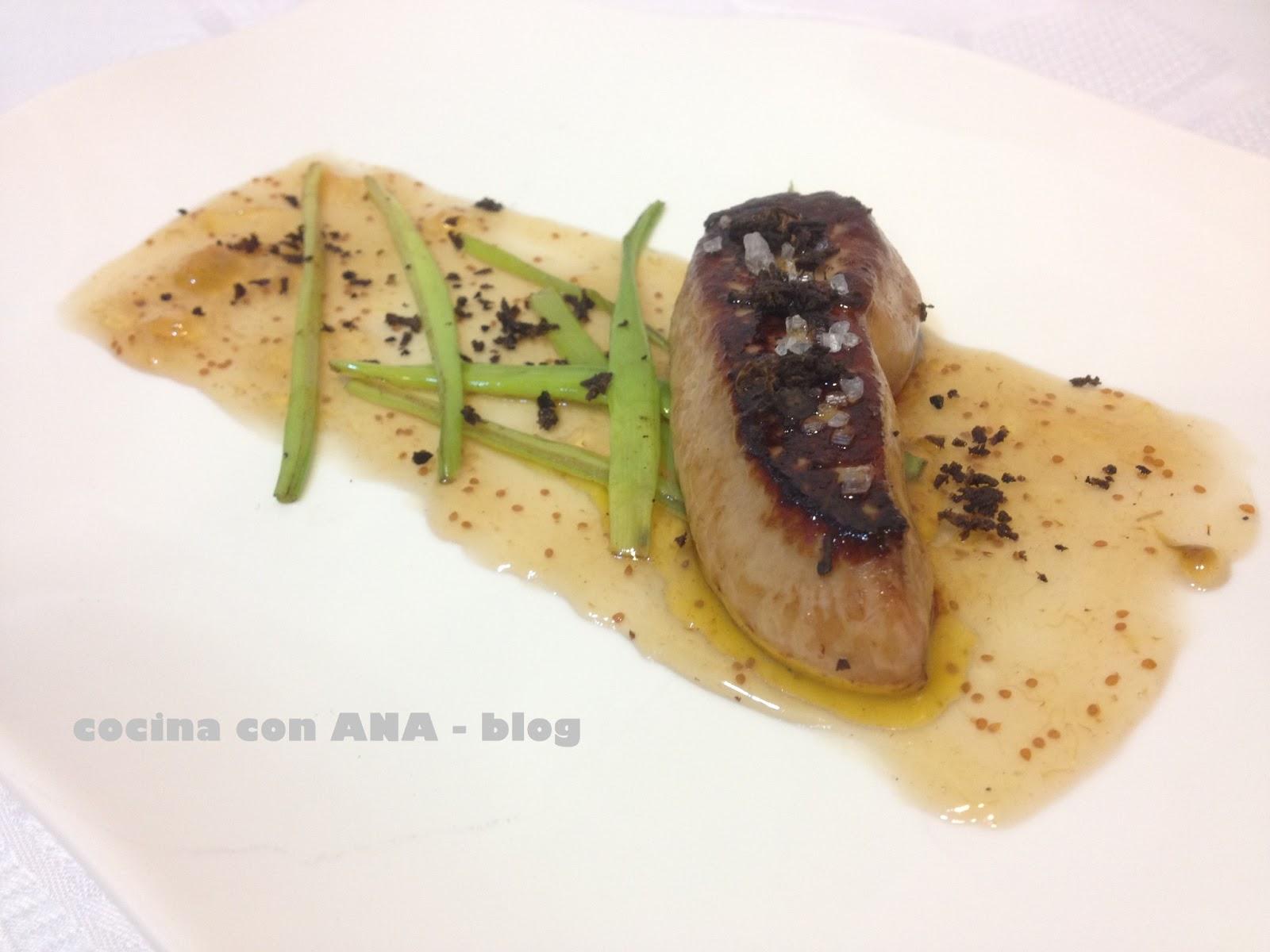 Cocina con ana foie con trufa y mermelada de higos - Ana cocina facil ...