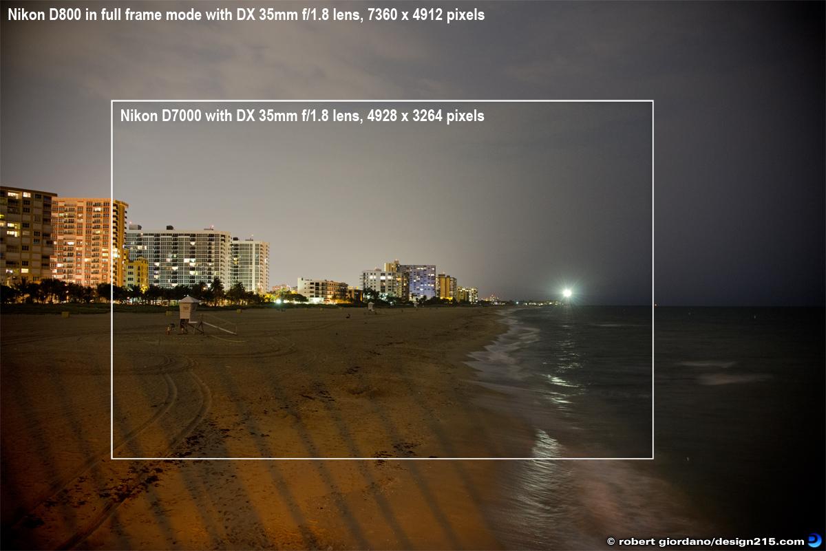 Robert Giordano\'s Photo of the Day: Nikon D800 vs. Nikon D7000 with ...