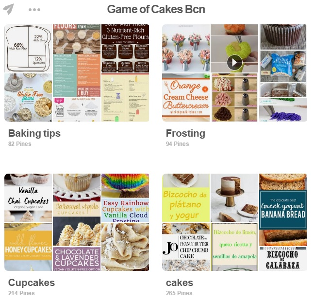 Pinterest: Game of Cakes Bcn