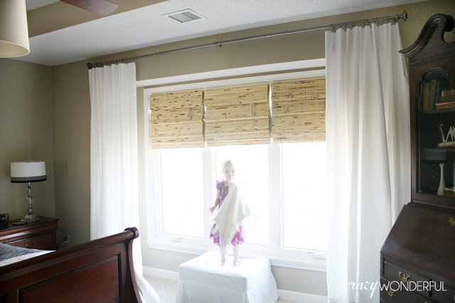 Patio Door Curtains Grommet Top Wood Window Curtains