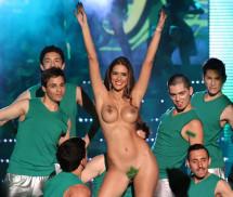 Sandra Bustamante nua