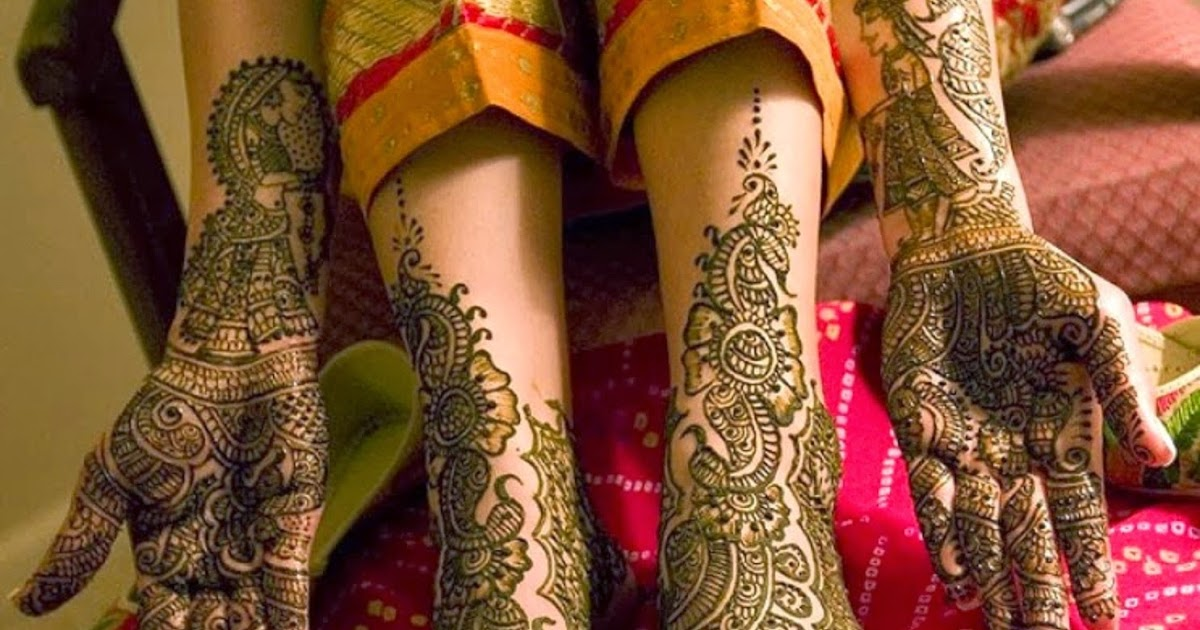 Bridal Mehndi Wallpaper Free Download : Bridal mehndi designs new feet and hand