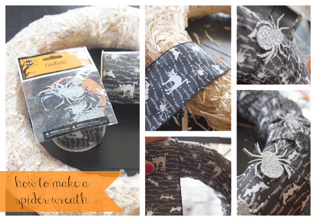Spooky Spider Wreath Tutorial!! Few supplies needed to make this awesome wreath!