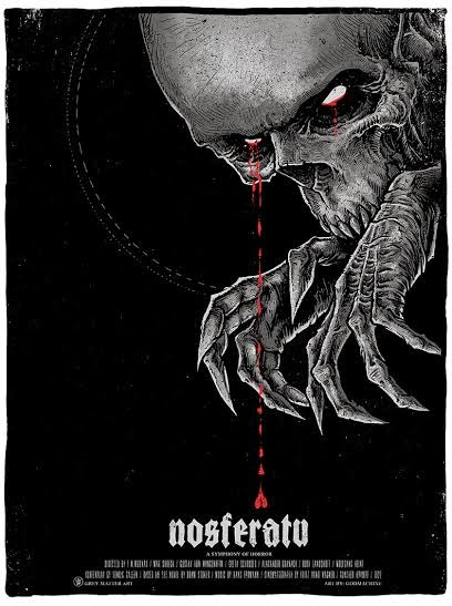 Nosferatu Screen Print by Godmachine