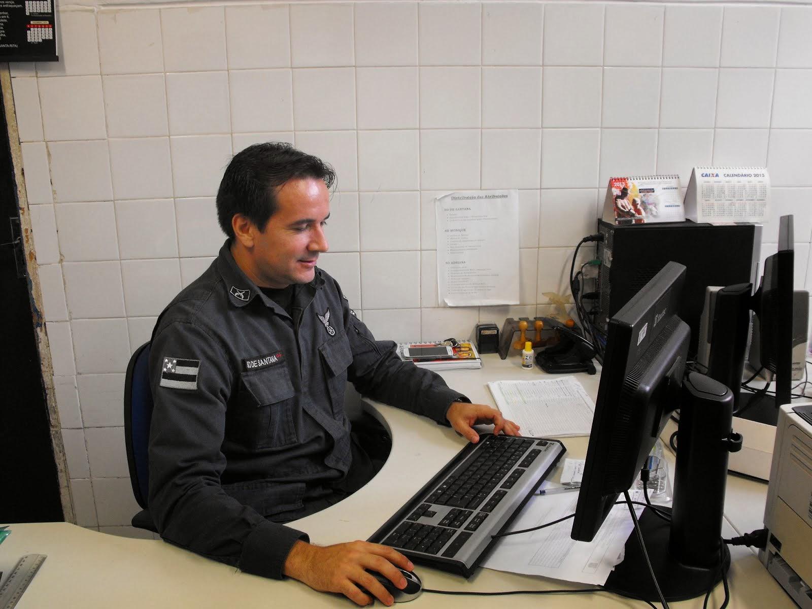 POLICIAL NA SARGENTEAÇÃO