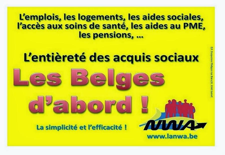 Les Belges d'abord