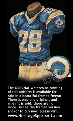 St. Louis Rams 2007 uniform