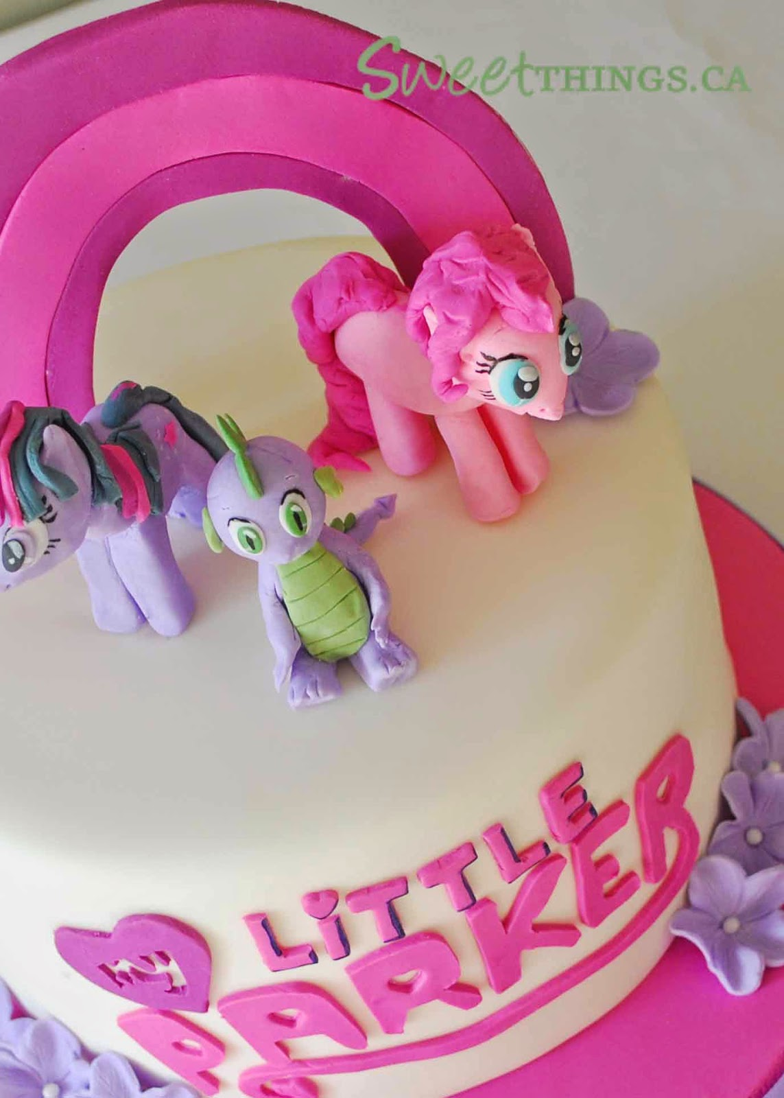 SweetThings 3rd Birthday Cake My Little Pony Cake